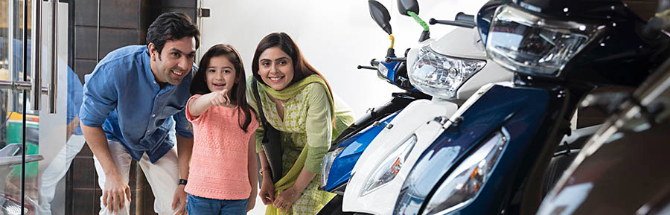 Ride your dreams with our Two-Wheeler Loan