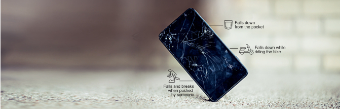 33% of the phone screens break within the first year of purchase