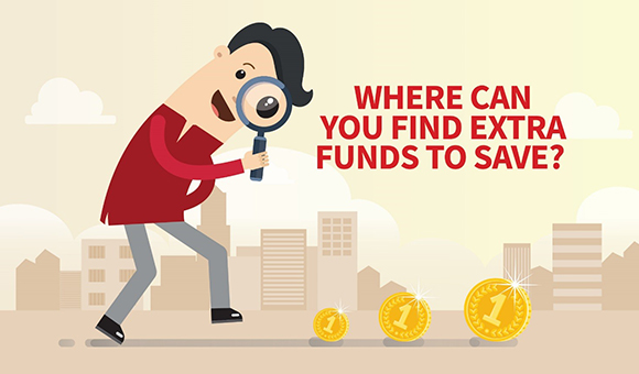 Where can you find extra funds to save!